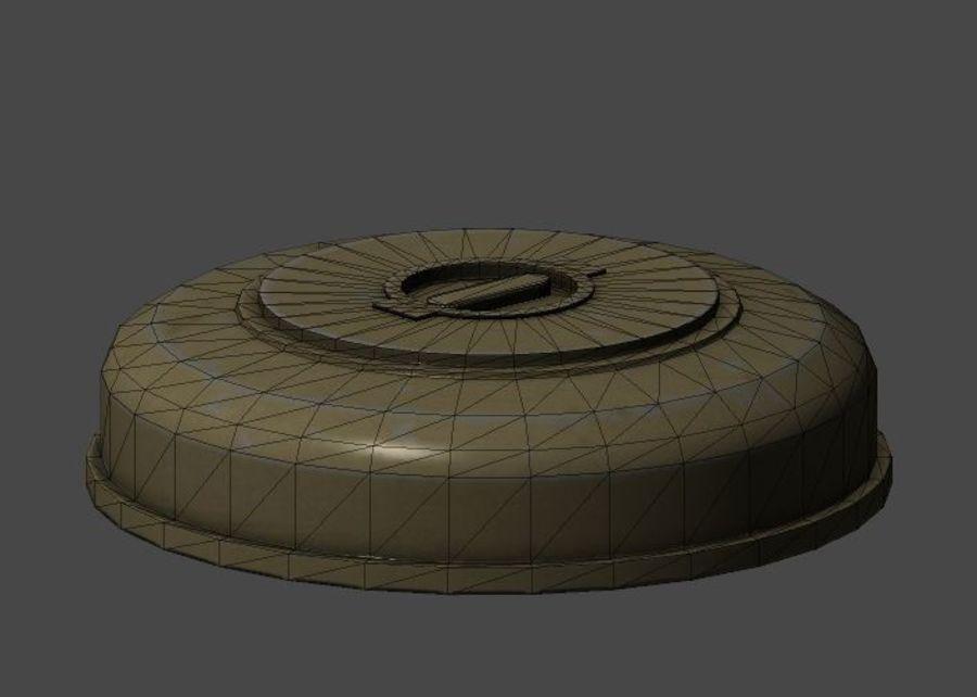 Battlefield 3 AT-mine 3D Model $5 -  unknown  fbx - Free3D