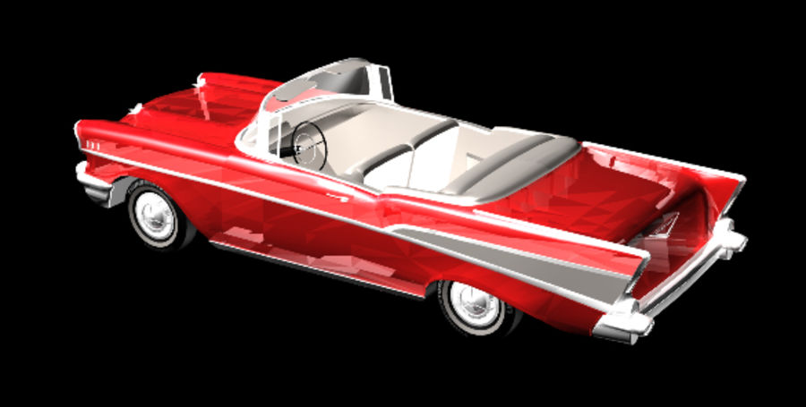 Автомобиль royalty-free 3d model - Preview no. 4