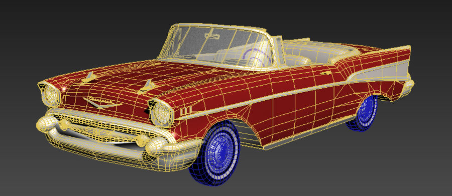 Автомобиль royalty-free 3d model - Preview no. 2
