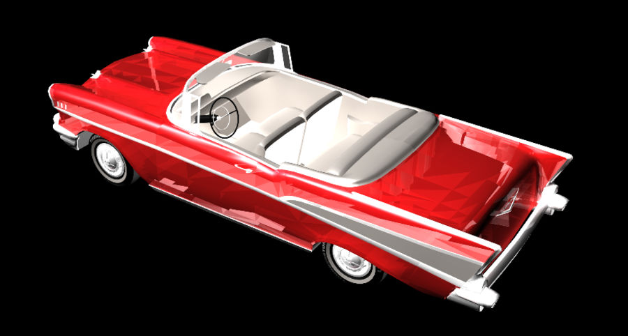 Автомобиль royalty-free 3d model - Preview no. 6
