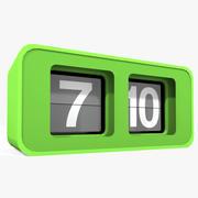 Flip Clock 3d model
