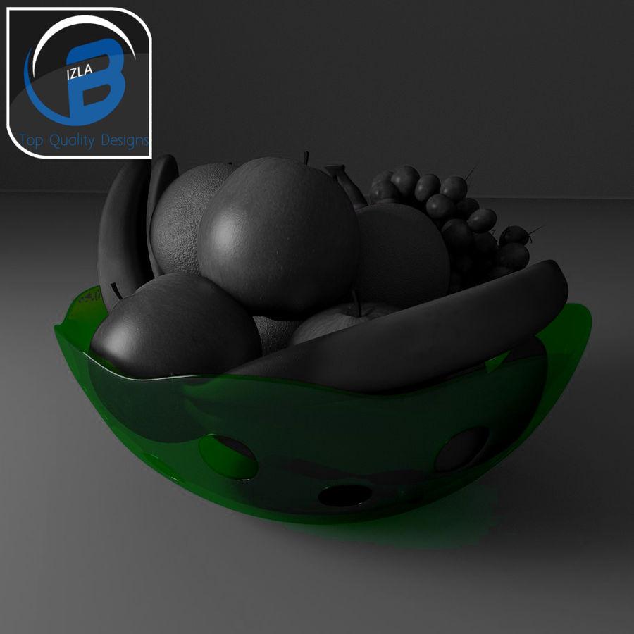 fruit bowl royalty-free 3d model - Preview no. 8
