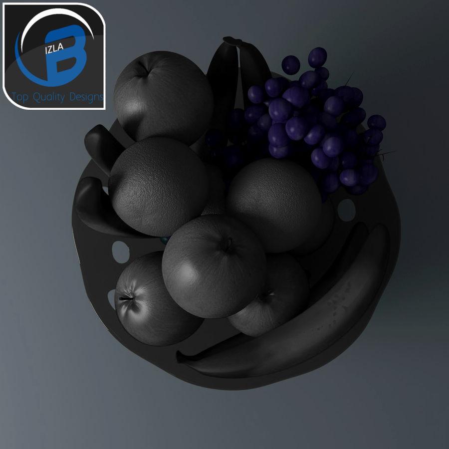 fruit bowl royalty-free 3d model - Preview no. 5