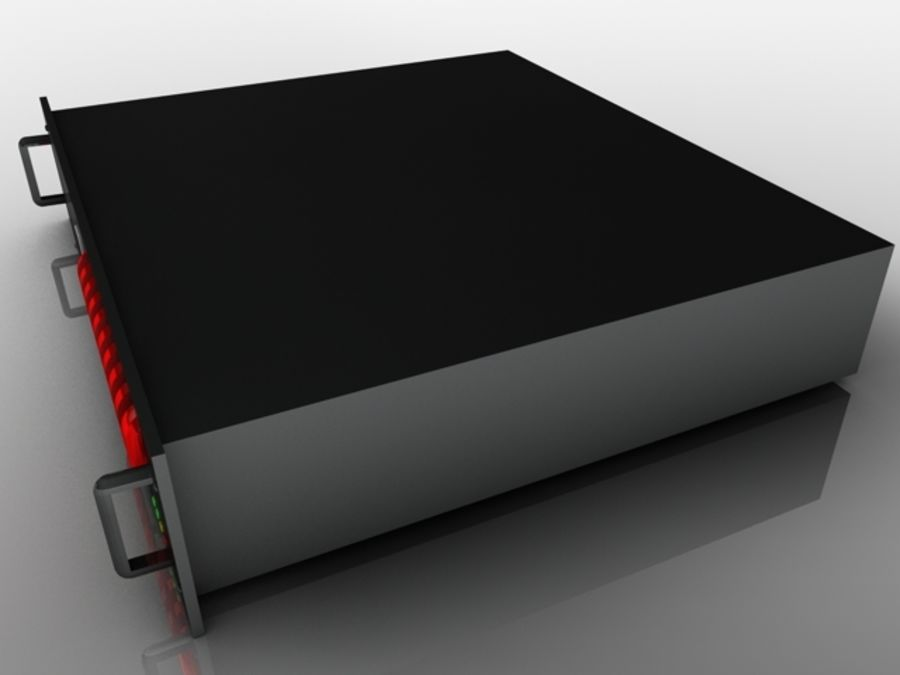 CPU Rack 2 royalty-free 3d model - Preview no. 5