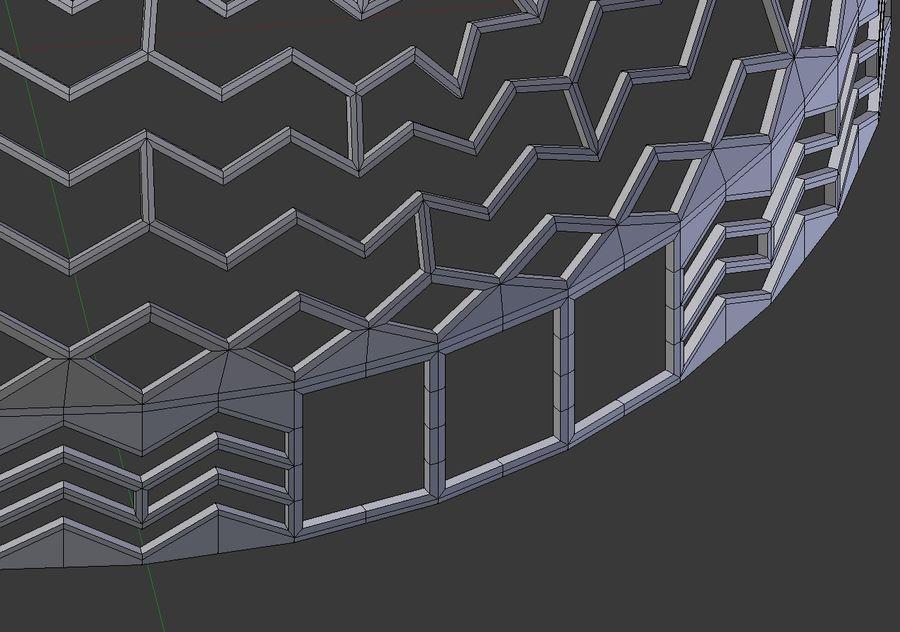 dôme de la terre et de la rivière royalty-free 3d model - Preview no. 12