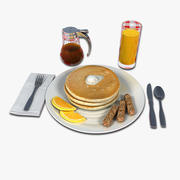 Pancake Breakfast 3d model