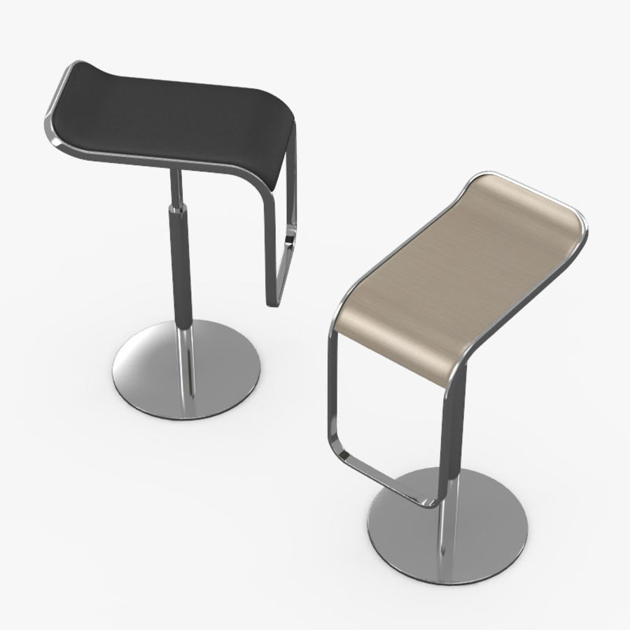 Barhocker lem 2 chair 3d model 10 max obj fbx 3ds for Barhocker dwg