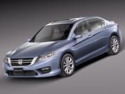 Honda Accord sedan 2013 3d model