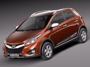Hyundai HB20X 2013 3d model