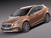 Volvo V40 Cross Country 2013 3d model