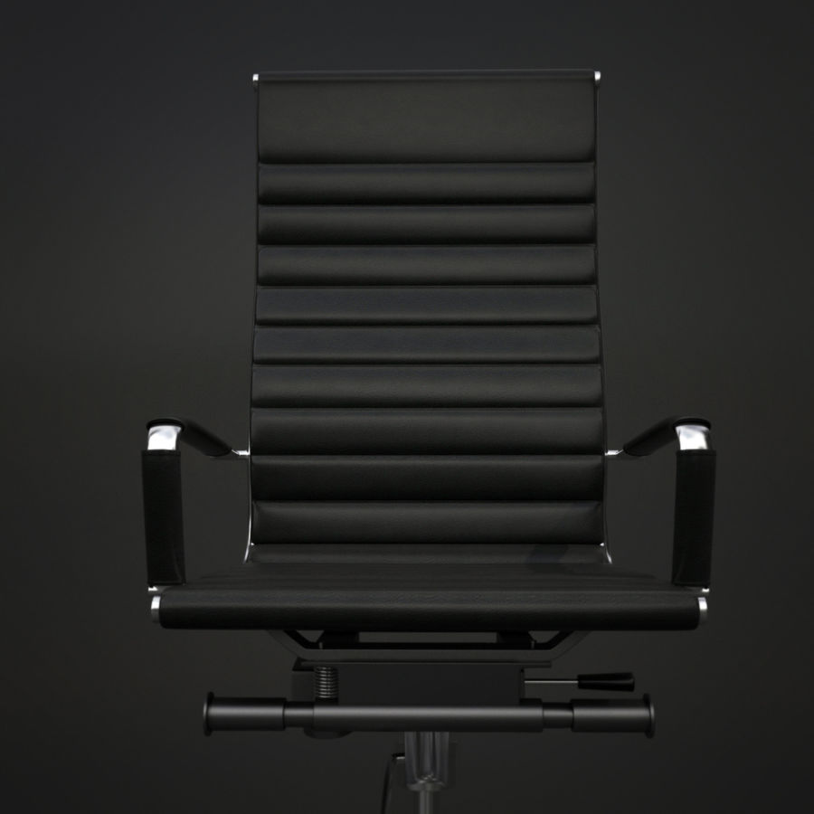Modern Office Chair royalty-free 3d model - Preview no. 9