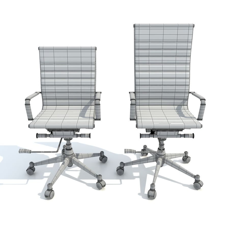 Modern Office Chair royalty-free 3d model - Preview no. 11