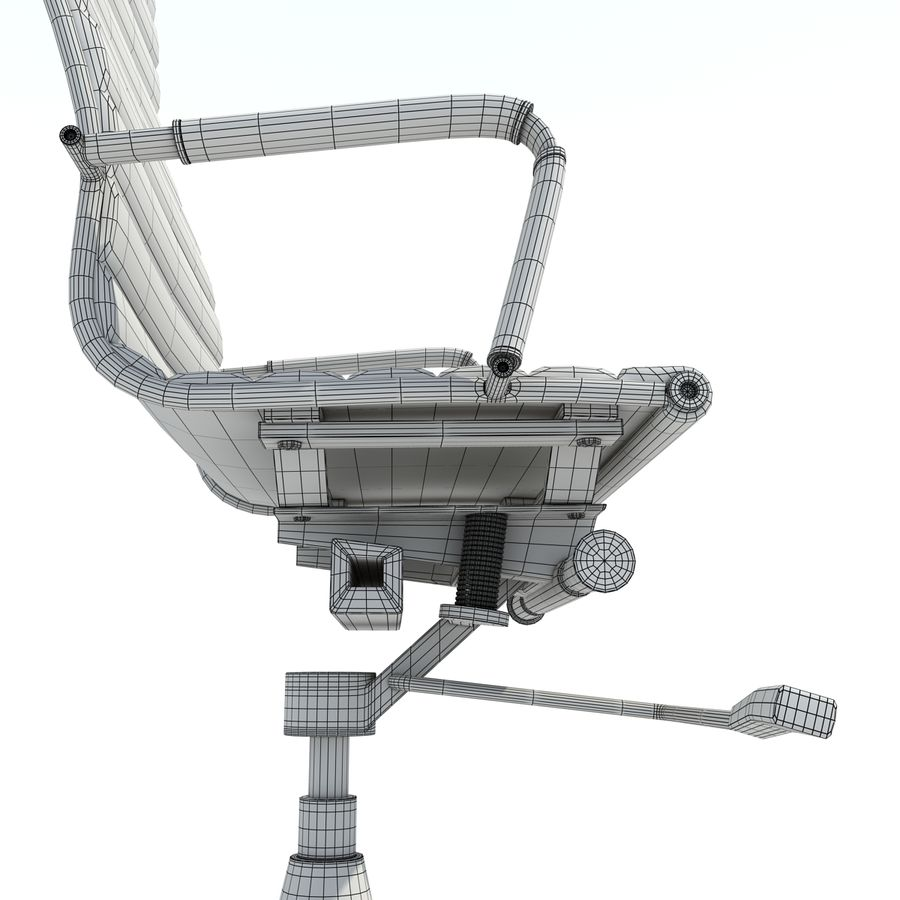 Modern Office Chair royalty-free 3d model - Preview no. 13