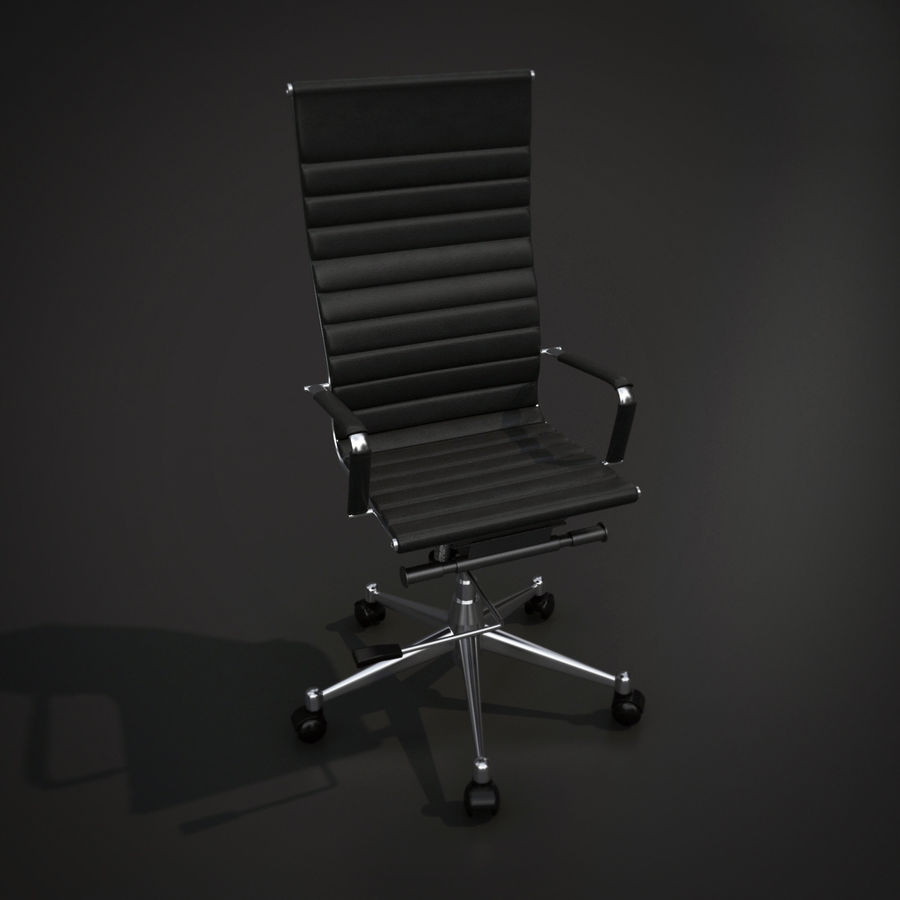 Modern Office Chair royalty-free 3d model - Preview no. 4