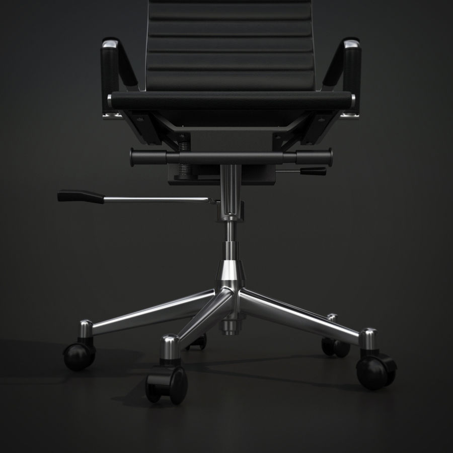 Modern Office Chair royalty-free 3d model - Preview no. 5