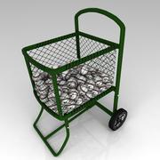 Ball Cart 3d model