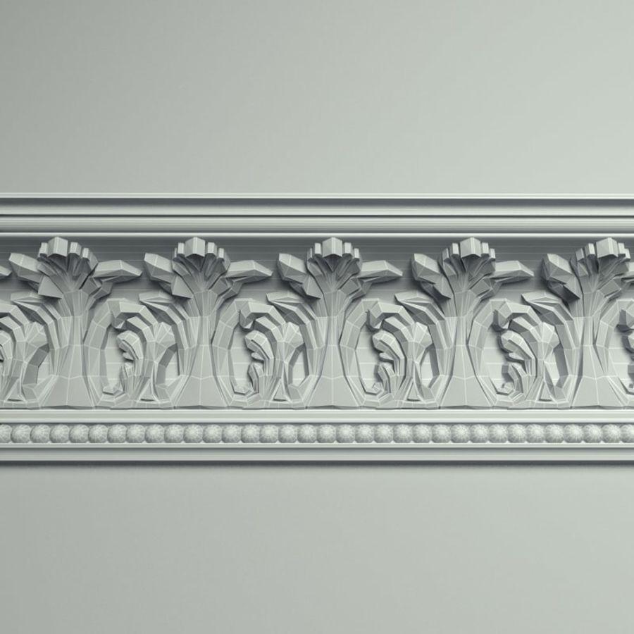 Peterhof  Cornice k 129 royalty-free 3d model - Preview no. 6