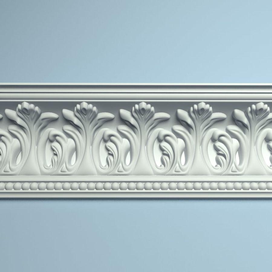 Peterhof  Cornice k 129 royalty-free 3d model - Preview no. 1