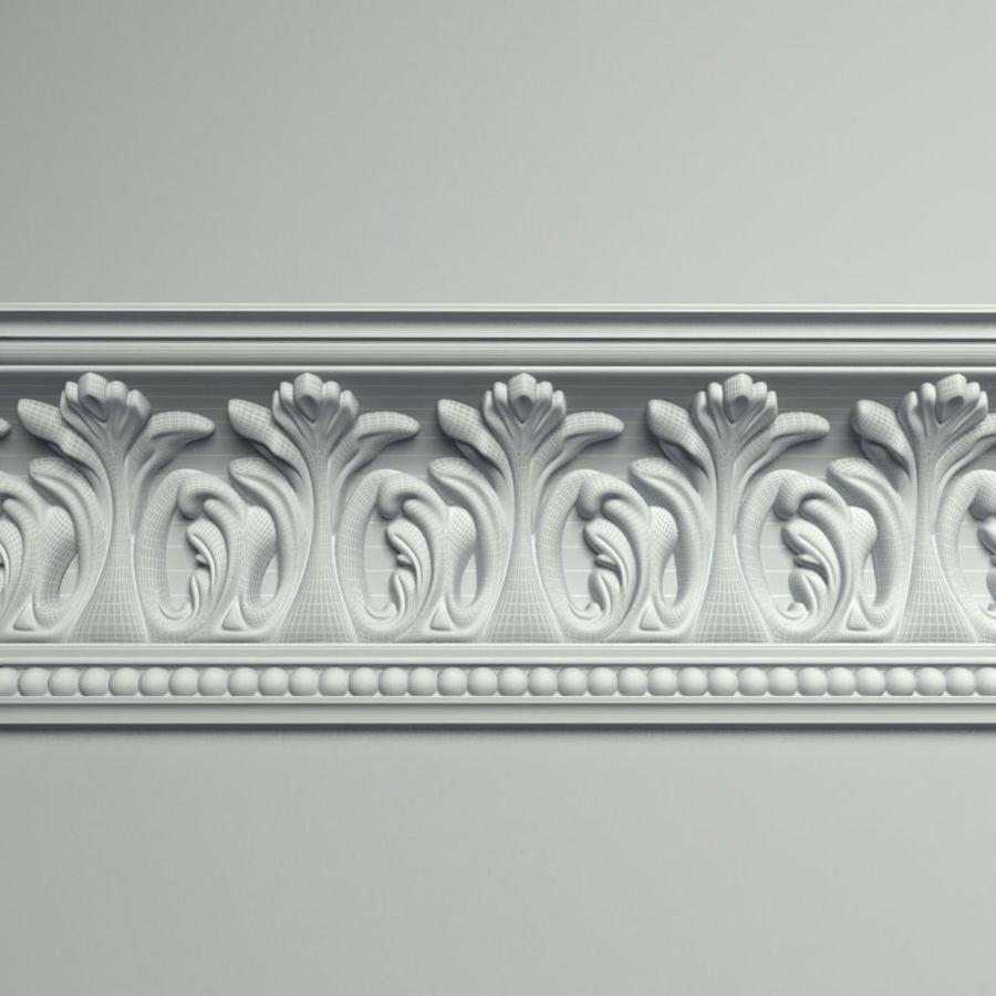 Peterhof  Cornice k 129 royalty-free 3d model - Preview no. 4