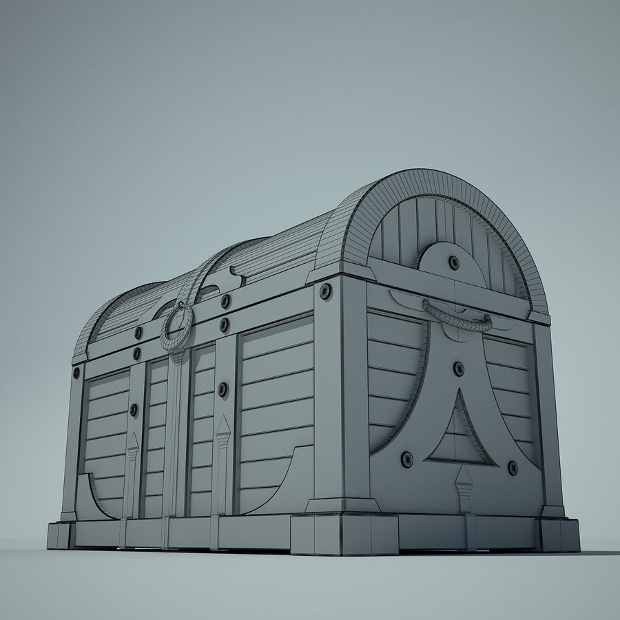 грудь royalty-free 3d model - Preview no. 6