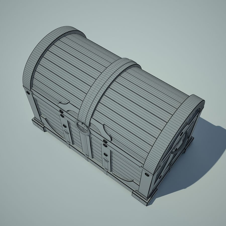 грудь royalty-free 3d model - Preview no. 4