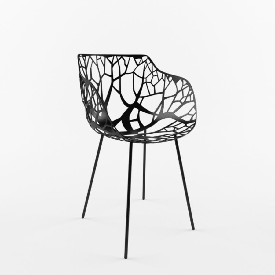 mesh chair royalty-free 3d model - Preview no. 1