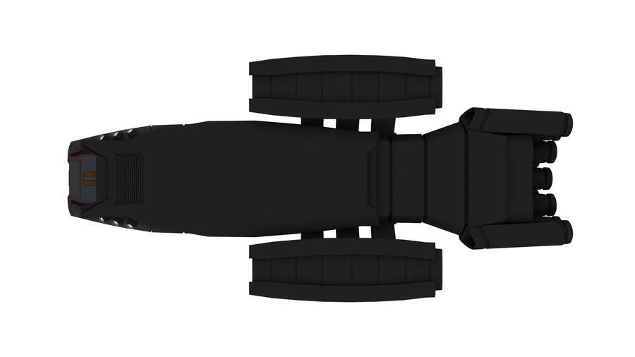 Battlestar Titan royalty-free 3d model - Preview no. 7