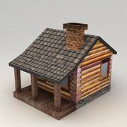 Rural house 2 3d model