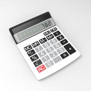 Calculatrice électronique 3d model