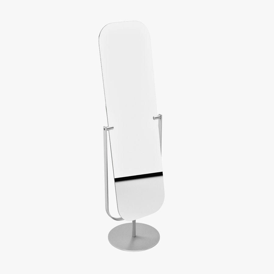 Floor Mirror By Jasper Morrison 3d Model 9 Obj Fbx