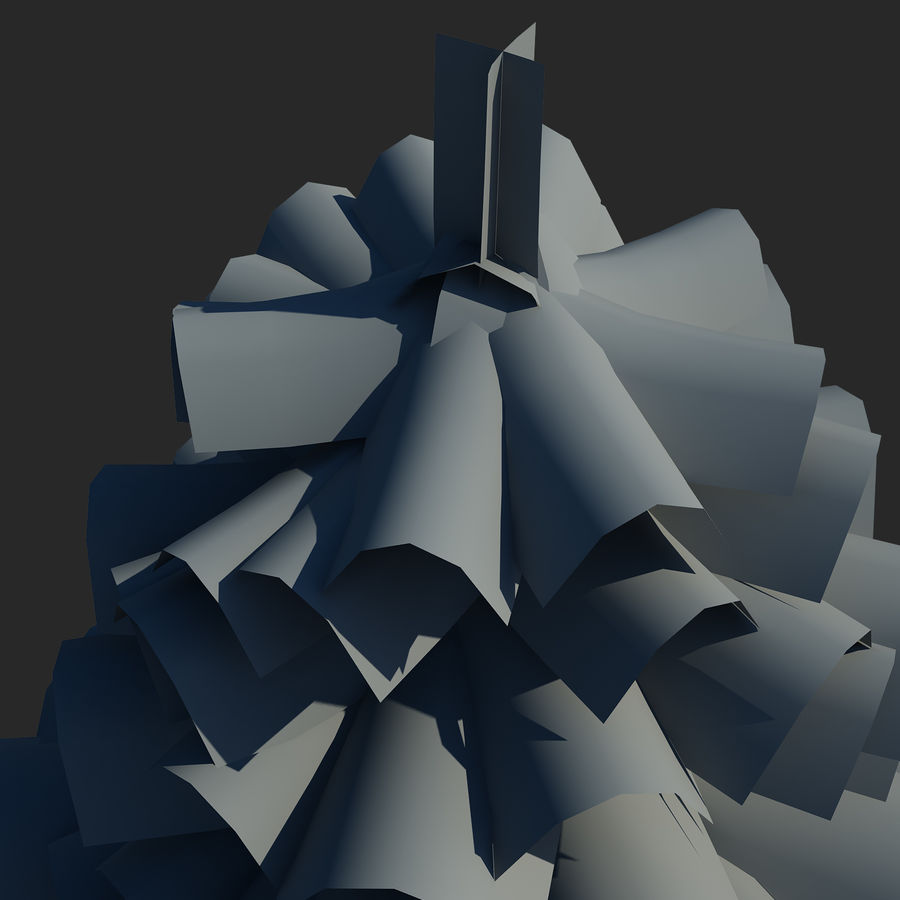 Pine Tree royalty-free 3d model - Preview no. 9