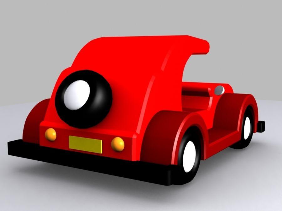 Автомобиль Той_01 royalty-free 3d model - Preview no. 5