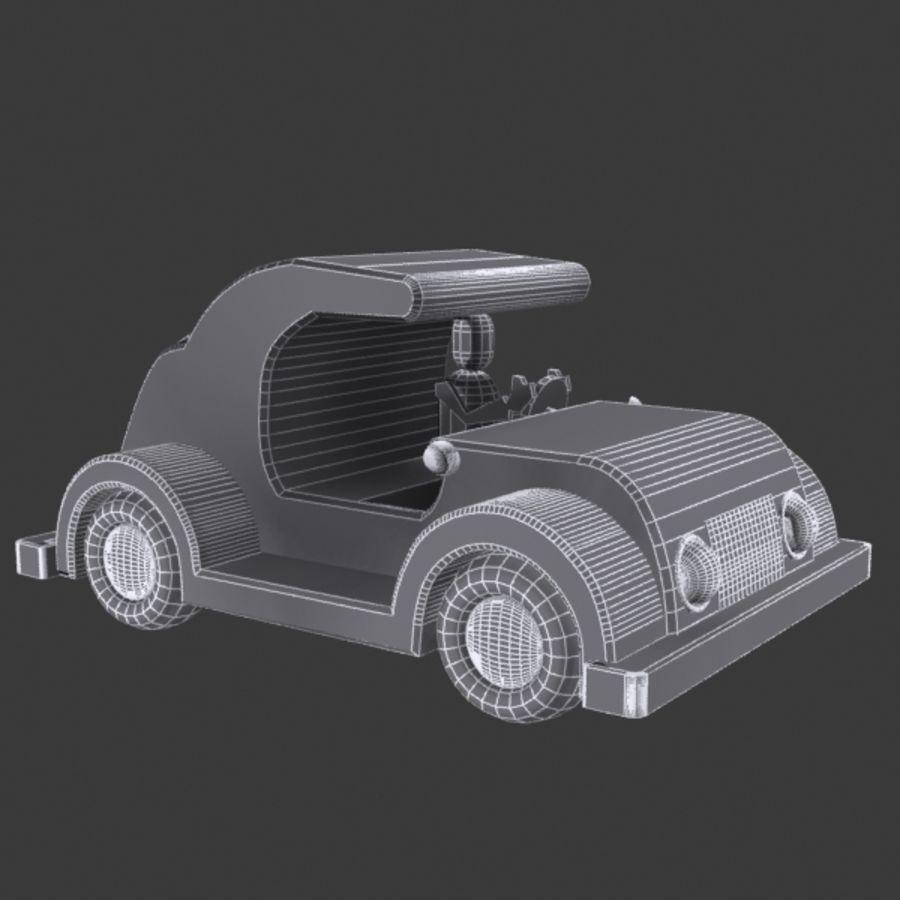 Автомобиль Той_01 royalty-free 3d model - Preview no. 8