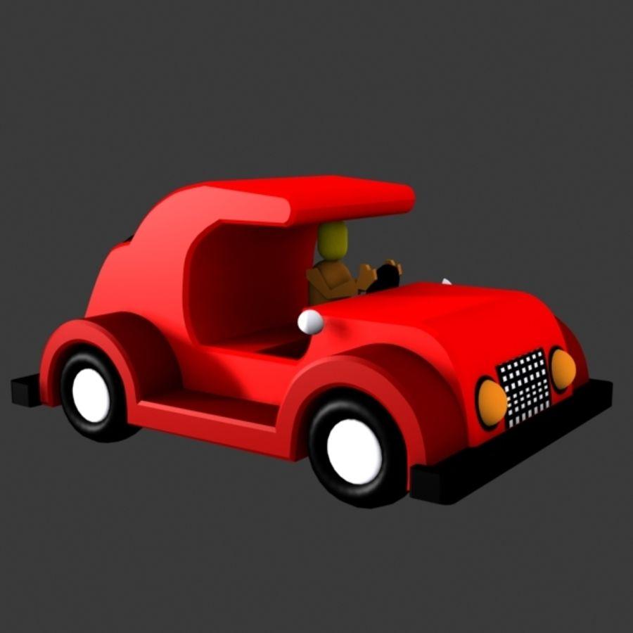 Автомобиль Той_01 royalty-free 3d model - Preview no. 2