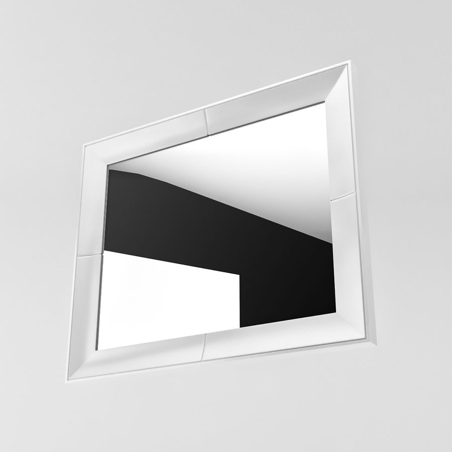Pearl mirror 3d model 5 obj fbx 3ds max free3d for Mirror 3d model