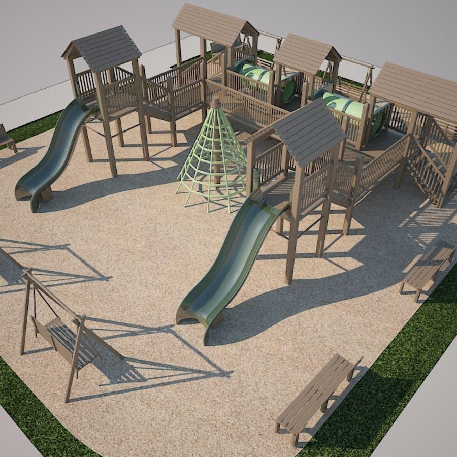 Children Playground Dan 3d Model 19 Unknown Max Free3d