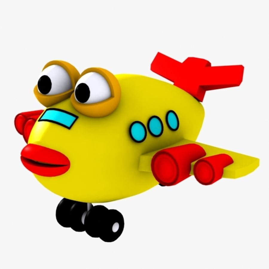 Fish Airplane Toy royalty-free 3d model - Preview no. 1
