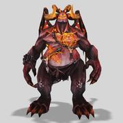Demon Lord 3d model