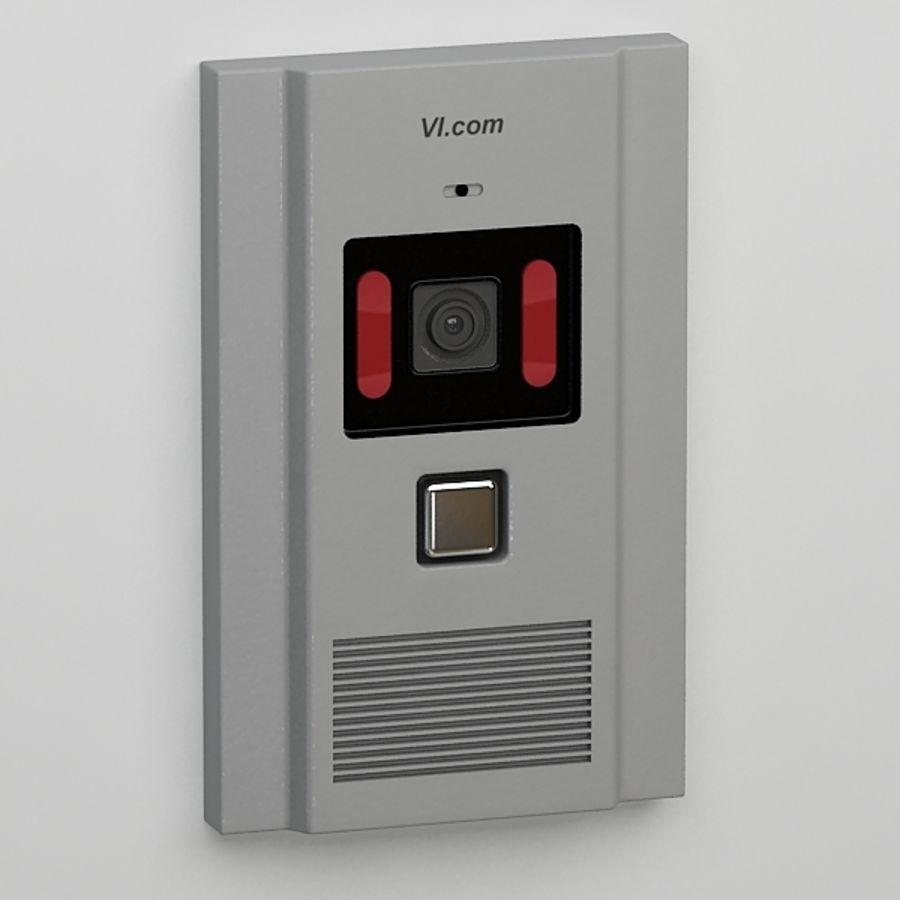Intercom013 royalty-free 3d model - Preview no. 3