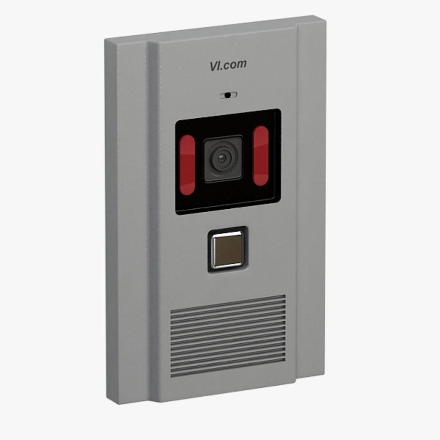 Intercom013 royalty-free 3d model - Preview no. 1