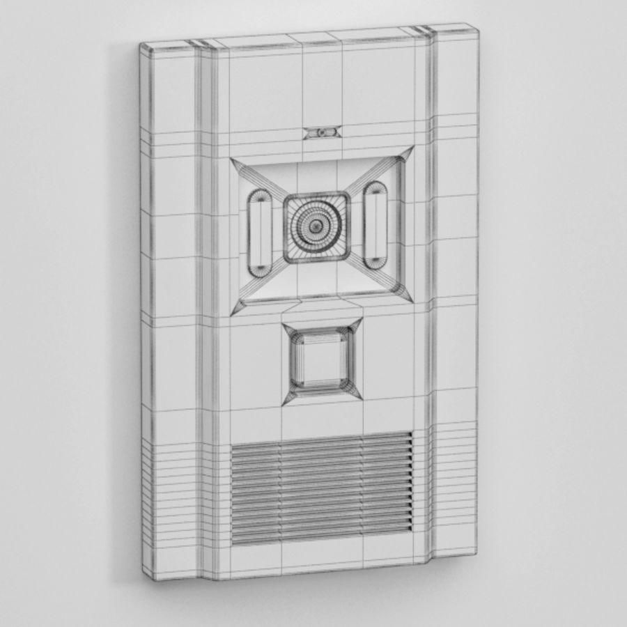 Intercom013 royalty-free 3d model - Preview no. 6