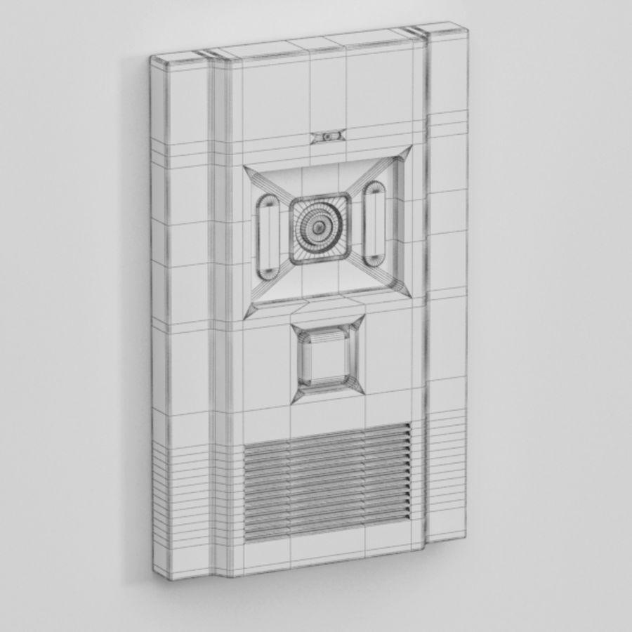 Intercom013 royalty-free 3d model - Preview no. 5