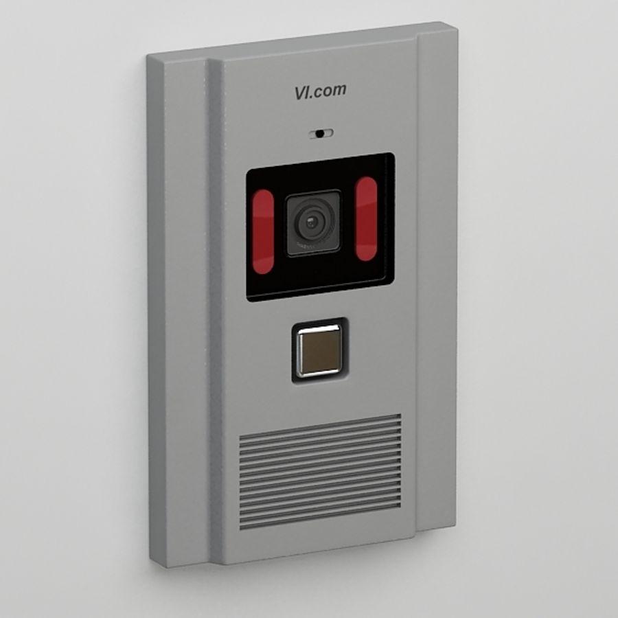 Intercom013 royalty-free 3d model - Preview no. 2