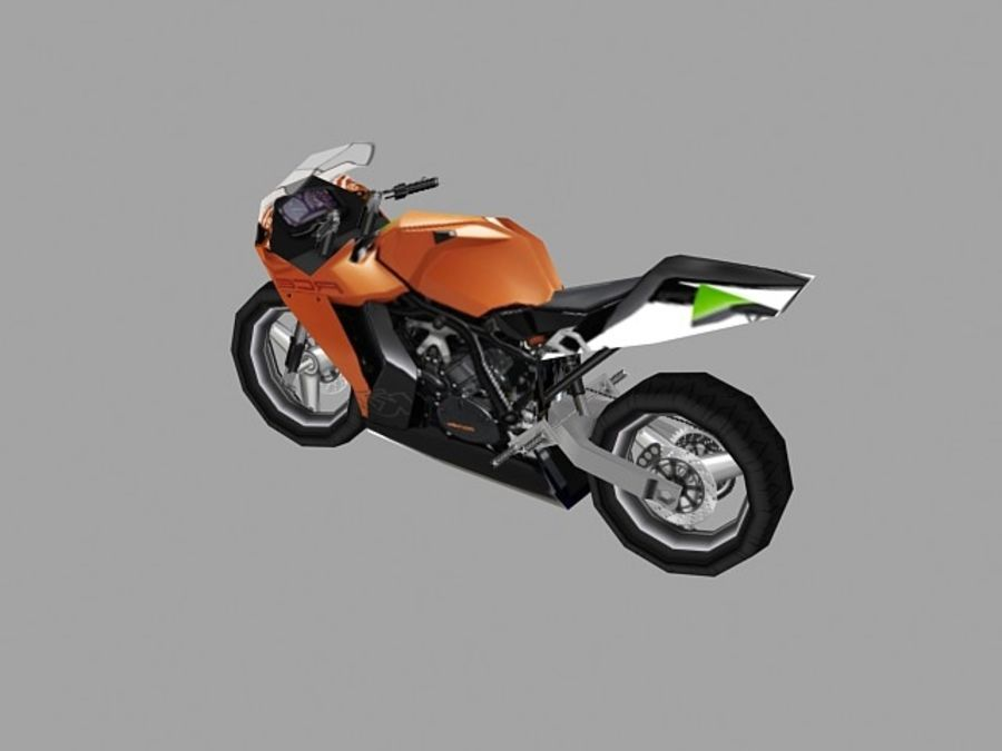Low poly sport bike 3 3D Model $8 -  unknown  max  obj  fbx  3ds