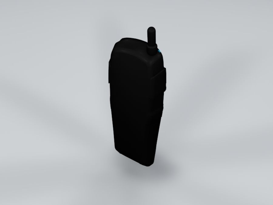 телефон royalty-free 3d model - Preview no. 5