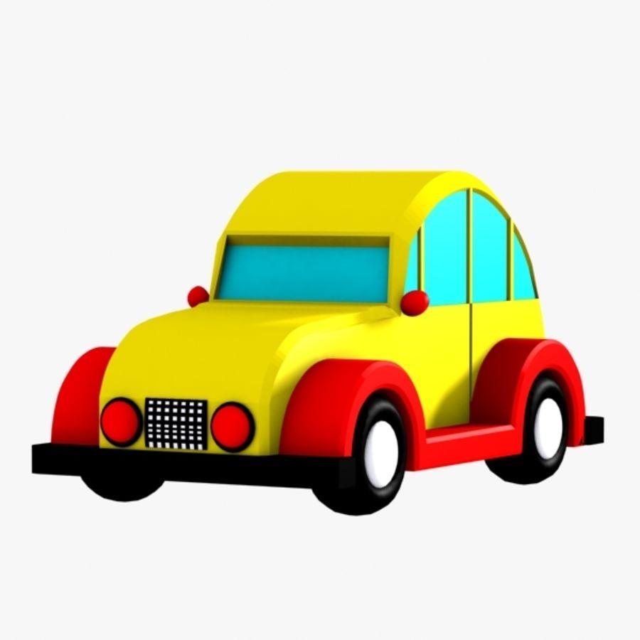 Carro de brinquedo_03 royalty-free 3d model - Preview no. 1