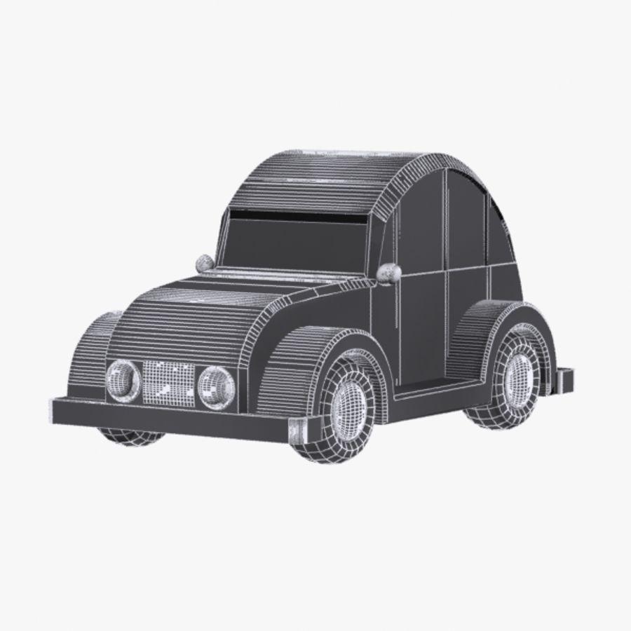 Carro de brinquedo_03 royalty-free 3d model - Preview no. 6