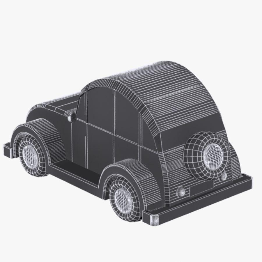Carro de brinquedo_03 royalty-free 3d model - Preview no. 7