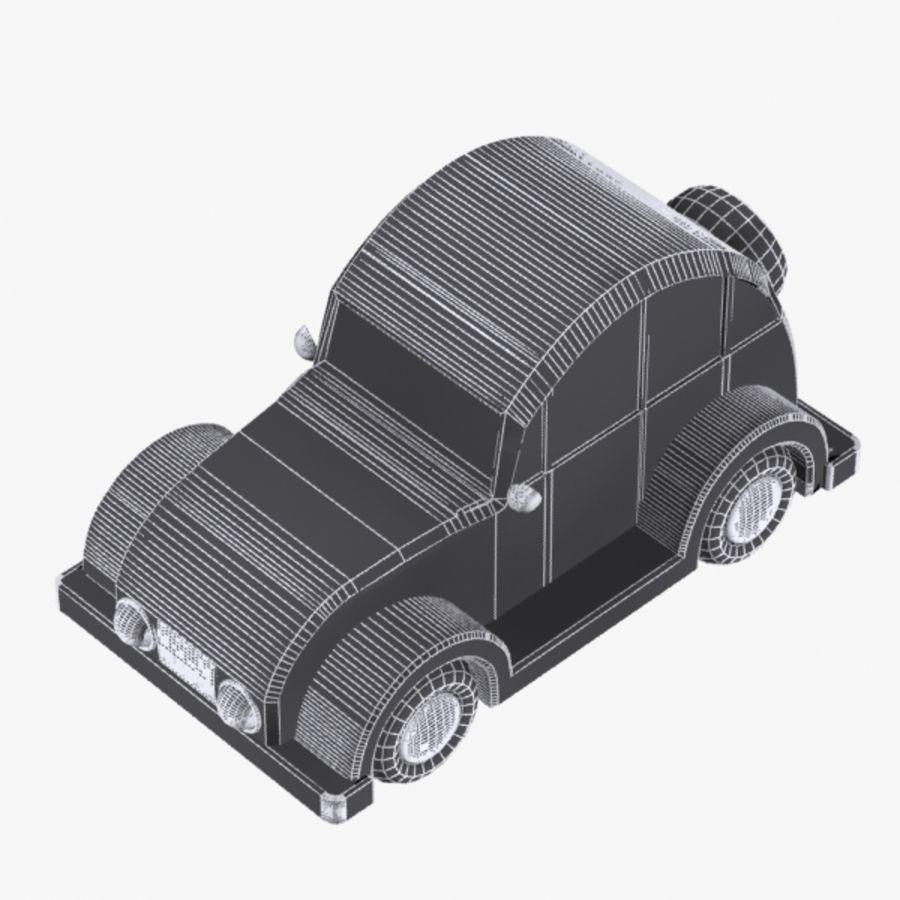 Carro de brinquedo_03 royalty-free 3d model - Preview no. 5