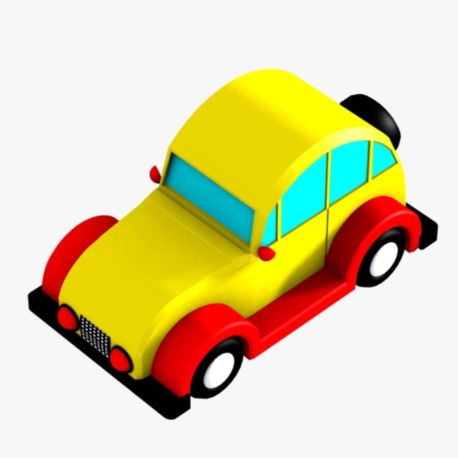 Carro de brinquedo_03 royalty-free 3d model - Preview no. 4